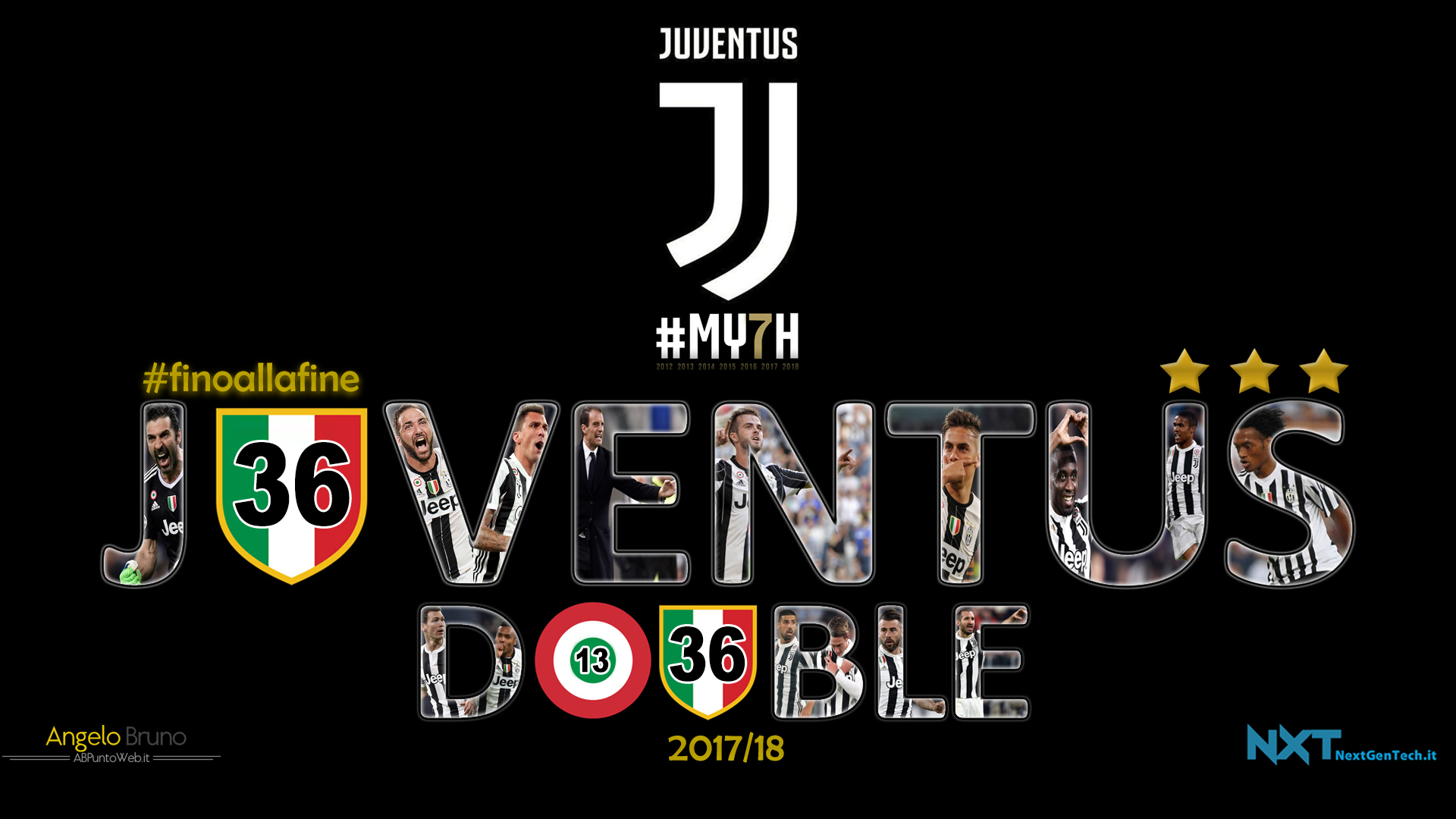 Juventus wallpaper 2017 18 full hd angelo bruno abpuntoweb for Sfondo juventus hd